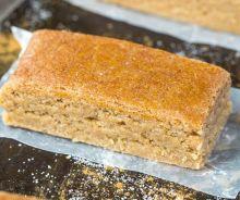 Barres protéinées à la tarte aux pommes (sans cuisson)