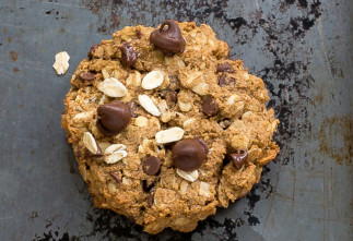 Recette facile de biscuits déjeuner à l'avoine et pépites de chocolat