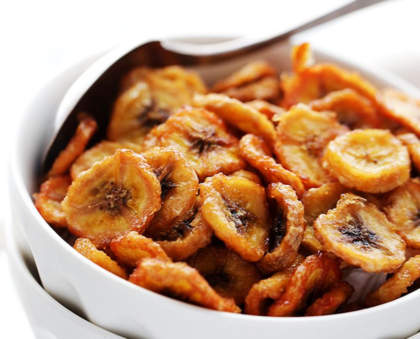 Recette facile de chips de bananes!