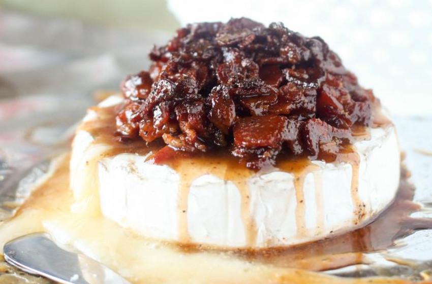 Recette facile de brie au bacon!