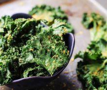 Les meilleures chips de kale
