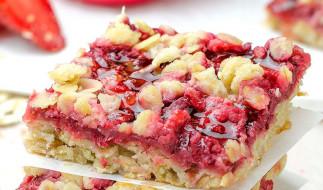 Recette facile de barres d'avoine et fraises fabuleuses!