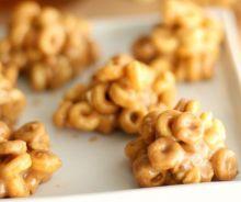 Bouchées de cheerios au beurre d'arachides