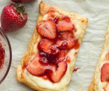 Danoises aux fraises