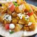 Recette facile de fajitas déjeuner aux patates, œufs et sauce sriracha
