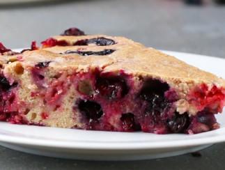 Gâteau aux fruits d'été