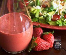 Vinaigrette aux fraises et balsamique