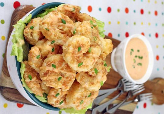 La meilleure recette des crevettes Bang Bang!