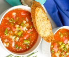 La meilleure recette de gaspacho