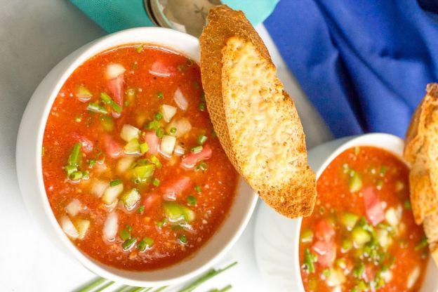 La meilleure recette de gaspacho (Super facile!)