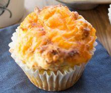 Muffins déjeuner aux œufs, jambon et fromage