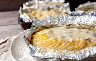 Patates au gratin