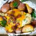 La recette facile de poulet et patates ranch et bacon sur le barbecue!