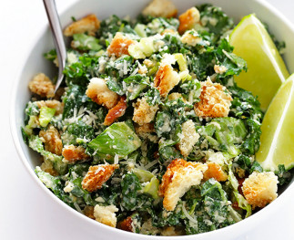 Recette facile de salade césar au chou kale!