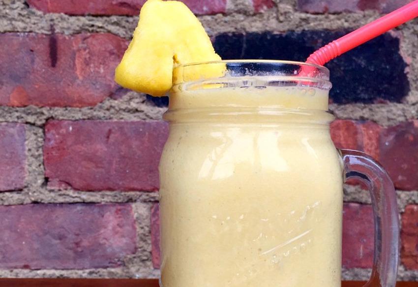 Recette facile de smoothie tropical à l'orange!