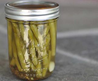 La recette facile de conserve de fèves vertes marinées!
