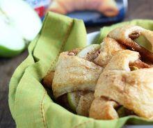 Croissants de tarte aux pommes