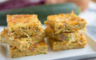 La recette facile de gâteau déjeuner aux zucchinis!