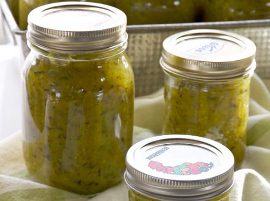La recette parfaite de relish de zucchini (courgette)!