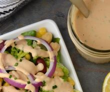 Vinaigrette ranch au BBQ
