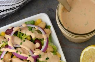 La recette facile de vinaigrette ranch crémeuse au barbecue!