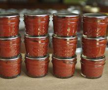 Conserves de pâte de tomates