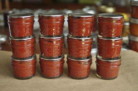 La recette facile de conserve de pâtes de tomates!