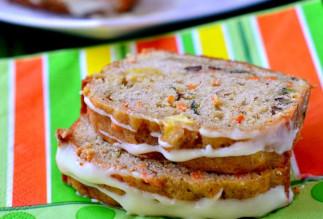 La recette facile de pain aux pommes, carottes et courgettes!
