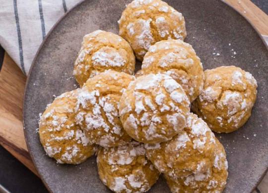 La recette faciles des Biscuits moelleux à la citrouille