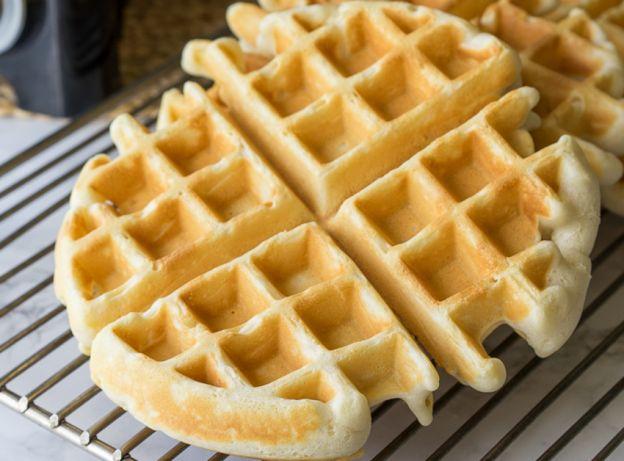 La recette la plus facile des gaufres maison!
