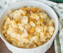 Patates crémeuses et fromagées dans la mijoteuse