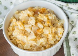 La recette facile de patates crémeuses et fromagées dans la mijoteuse!