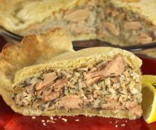 Pâté au saumon traditionnel