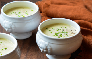 La recette facile de potage aux poireaux!