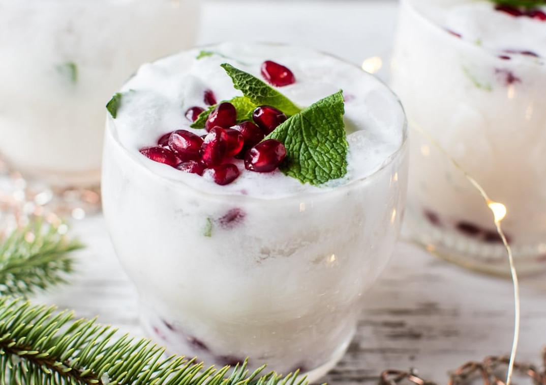 La recette de mojito du Noël Blanc (Cocktail des fêtes)!