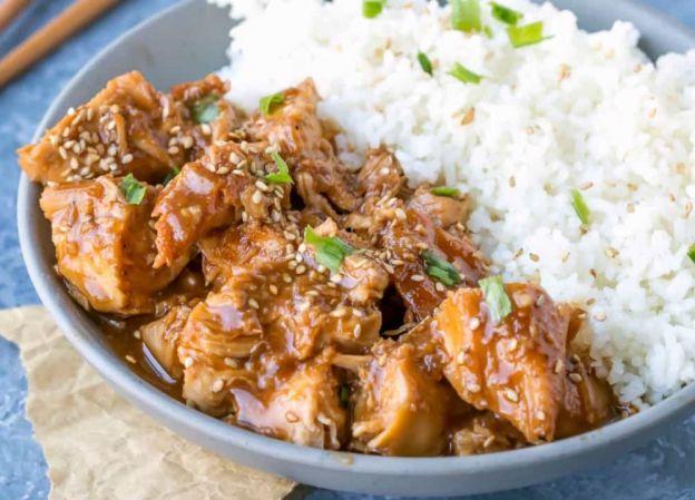 La recette facile de poulet et sésame à la mijoteuse!