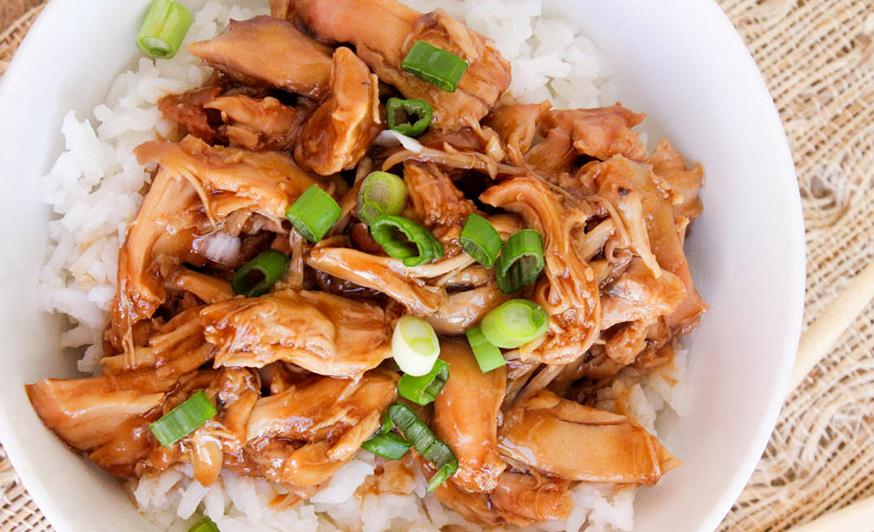 La recette facile de haut de cuisse de poulet teriyaki à la mijoteuse!
