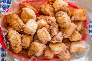 Bouchées de poulet frit