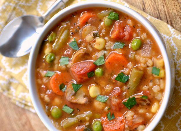 Recette facile de soupe aux légumes et à l'orge
