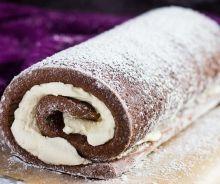 Gâteau roulé Suisse
