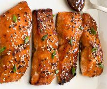 Saumon aigre-doux