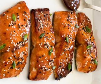 La recette facile de saumon aigre-doux (Un vrai délice!)
