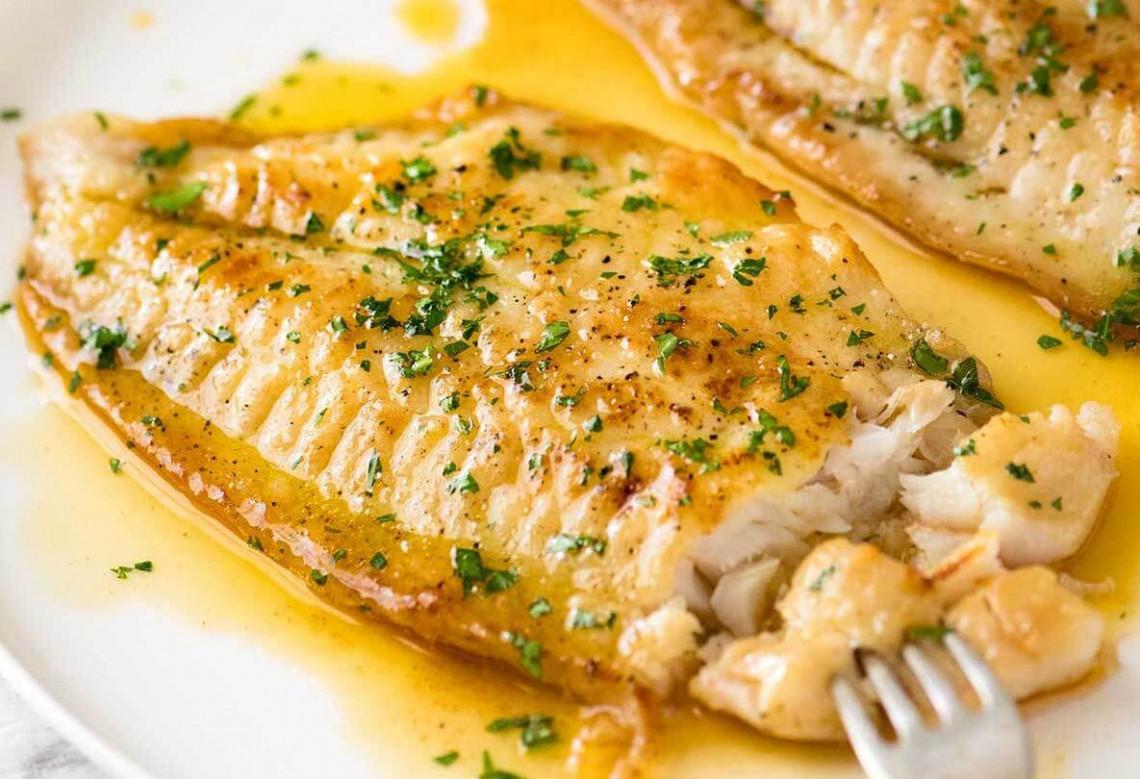 La meilleure recette de beurre noisette et poisson blanc au monde (Super facile!)