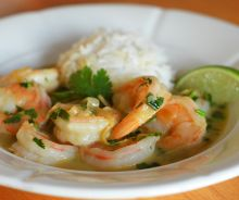 Crevettes thaïlandaises au curry
