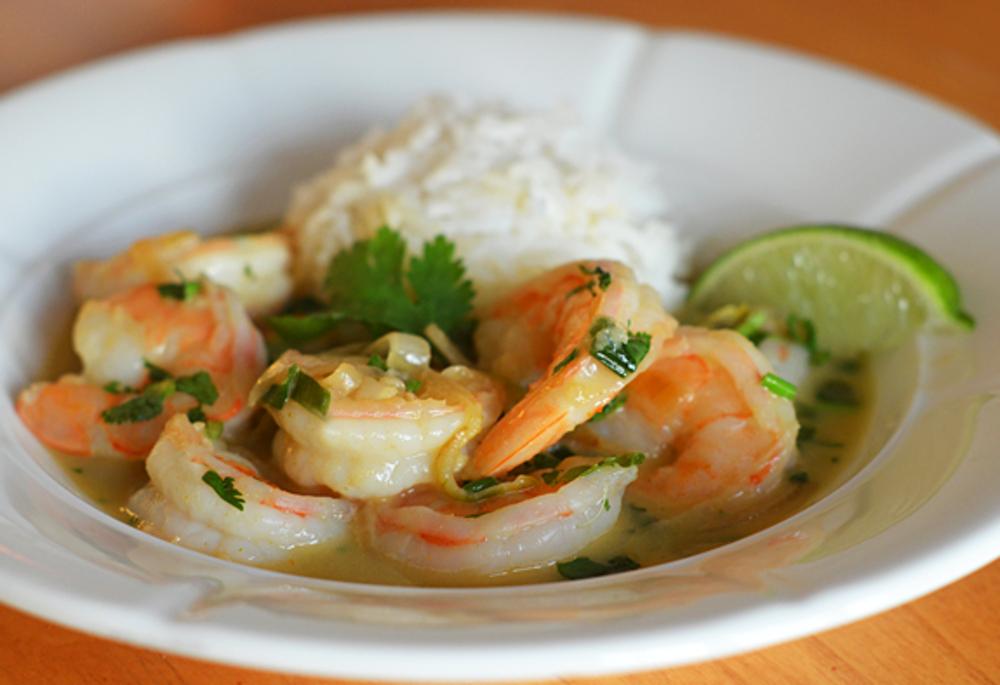 La meilleure recette de crevettes thaïlandaises au curry!