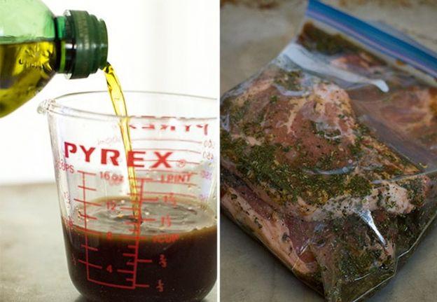 La meilleure recette de marinade à steak (ail et basilic)!