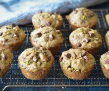 Muffins aux zucchinis et chocolat