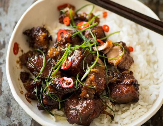 La meilleure recette de porc au caramel à la vietnamienne...