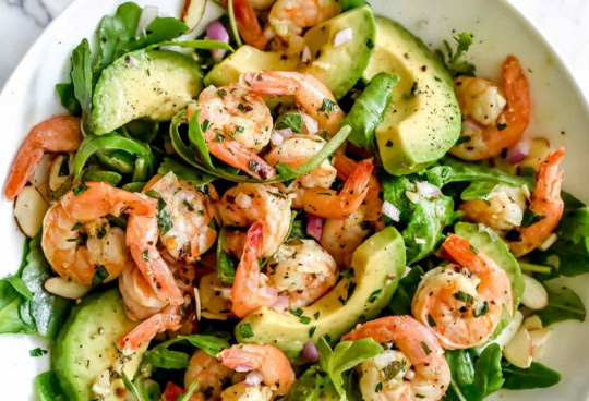 La meilleure recette de salade de crevettes à l'avocat!