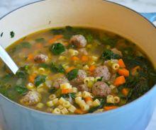 Soupe de noces à l'italienne